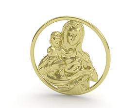 Pendant saint 3D print model