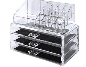 Acrylic organizer 3D model