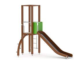 3D model Lappset Activity Tower 07