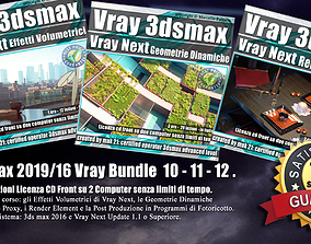 3ds max Vray Next Bundle 10 - 11 - 12