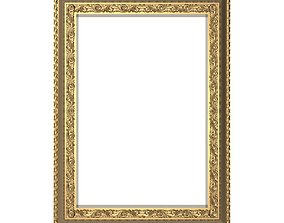 3D architectural Carved Picture Frame
