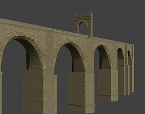 3D Roman Stone Bridge