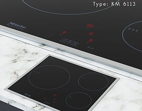 induction Miele Induction cooktop KM 6113 3D