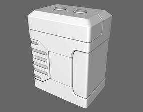 3D model Sci-Fi Microfusion Cell