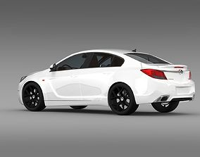 Vauxhall Insignia VRX 2009 2013 3D