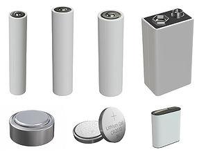 3D model PBR battery