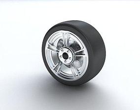 3D Wheel part