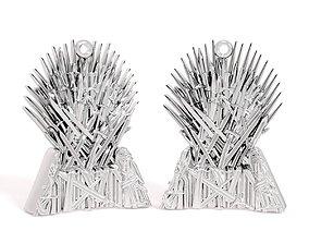 3D printable model Pendant Iron throne
