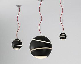 3D model Terzani BOND pendant lamp set