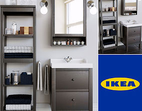 3D Set Ikea Bathroom