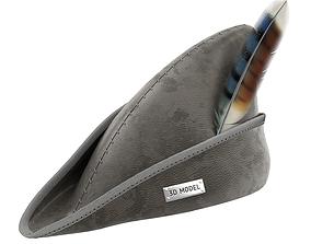 3D model Robin Hood Hat