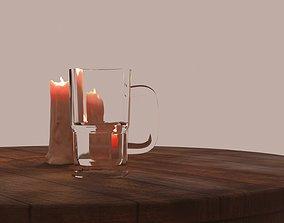 Wild West Bar Glass 3D