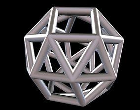 3D print model 034 Mathart - Archimedean Solids - Snub 4