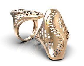 rings Openwork ring A0-300203 3D print model