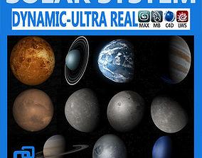 3D Pack - Hyperreal Solar System