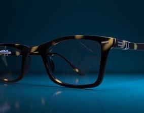 Eyeglass for Men 3D asset