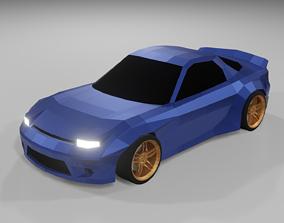 Mazda RX-7 Rocket Bunny 3D asset