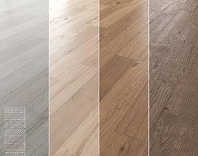 Wood Floor Set 04 3D model