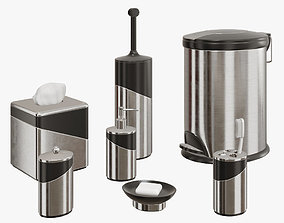 3D Stainless Steel Bath Accessories
