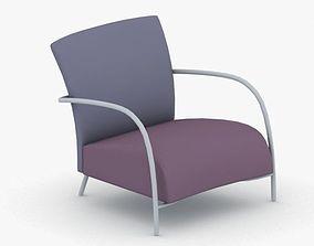 0461 - Armchair 3D model realtime