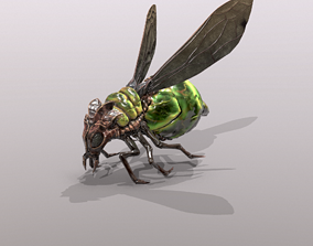 Firefly 3D model rigged