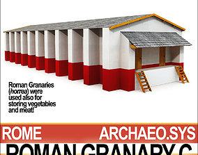 Roman Granary C 3D model