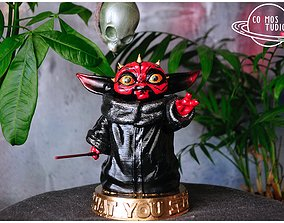 Baby Yoda - Darth Maul Baby Yoda 3D printable model