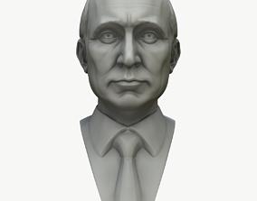 3D Vladimir Putin Bust Ready To Print