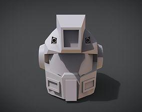 GM variant Head 3D print model