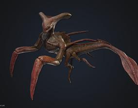 Crustacean creature 3D model