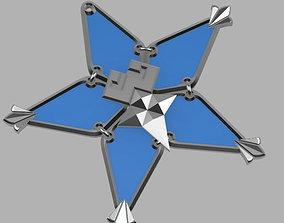 Kindom hearts - Wayfinder Star 3D print model