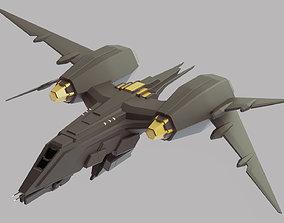 spacecraft Space Fighter MK 1 3D