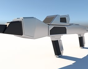 Federation Type III Phaser Rifle 3D printable model