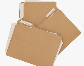 File Folders 3D model