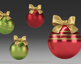 newyear Christmas tree toys 3D model