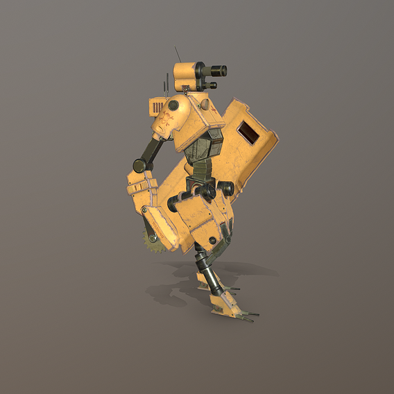 Robot technician-medic