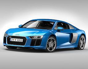 Audi R8 V10 Coupe 2016 3D