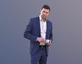 Lars 10434 - Standing Business Man 3D asset game-ready
