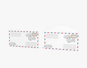 Envelope 3D model street