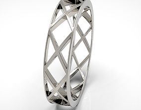 geometric ring 3D print model