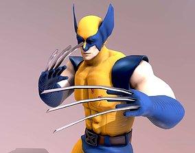 3D model animated Wolverine X-MAN