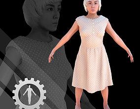3D model Female Scan - Cathy