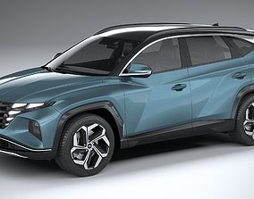 Hyundai Tucson 2021 3D model