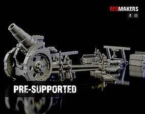 Medusa Cannon - Heavy artillery of the 3D print model 1