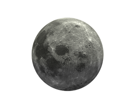 Photorealistic 3D Moon VR / AR ready