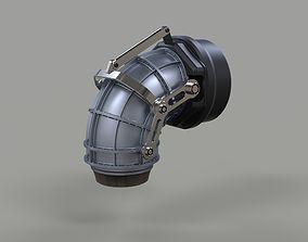 Jet nozzle 3D model