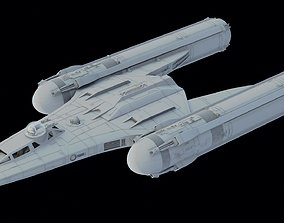 Star Wars Y Wing Clone Wars 3D STL Printable Files 1 24th
