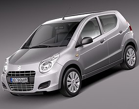 Suzuki Alto GL 2009-2012 3D model 2010