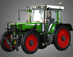 Favorit 511C Farming Vehicle 3D