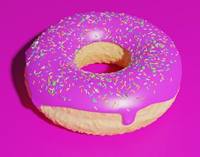 2 Dollar Donut 3D model